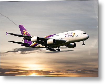 Thai Airlines Metal Print