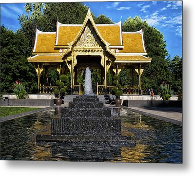Thai Pavilion - Madison - Wisconsin Metal Print