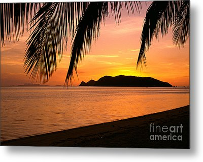 Thailand, Koh Pagan Metal Print by William Waterfall - Printscapes