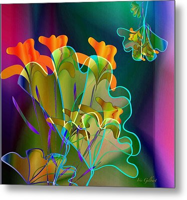 Thanksgiving Bouquet Metal Print
