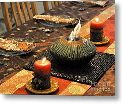 Metal Print featuring the photograph Thanksgiving by Cheryl McClure