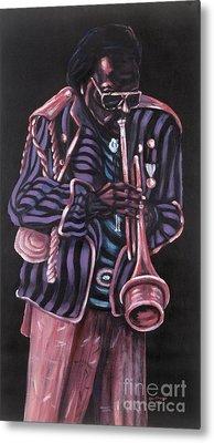 thanx Miles Davis Metal Print by George Chacon