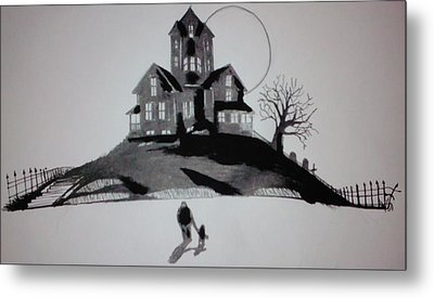 That House Metal Print by Ronald Mcduff