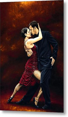 That Tango Moment Metal Print by Richard Young