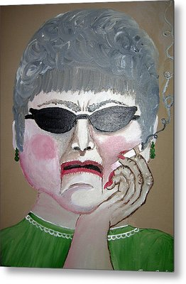 That Woman Metal Print by Sharon Supplee