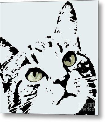 Thats Willie Pet Portrait Metal Print by Pablo Franchi