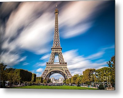 The 1665 Steps Climb Metal Print by Giuseppe Torre