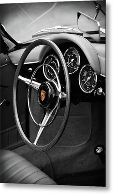 The 356 Roadster Metal Print by Mark Rogan