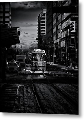 Metal Print featuring the photograph The 512 St.clair Streetcar Toronto Canada by The Learning Curve Photography