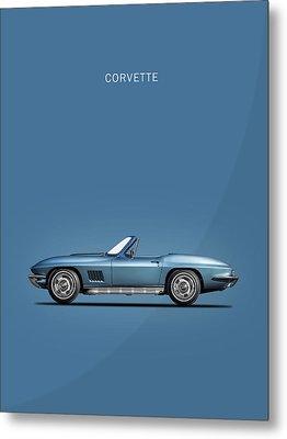 The 67 Corvette Stingray Metal Print by Mark Rogan