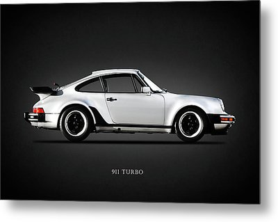 The 911 Turbo 1984 Metal Print by Mark Rogan