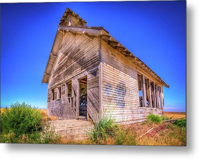 The Abandoned School House Metal Print