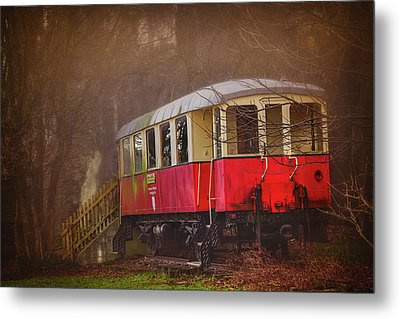 The Abandoned Tram In Salzburg Austria  Metal Print