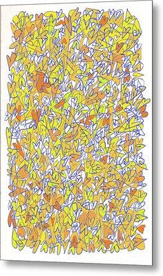The Abundant Heart Metal Print by Linda Kay Thomas
