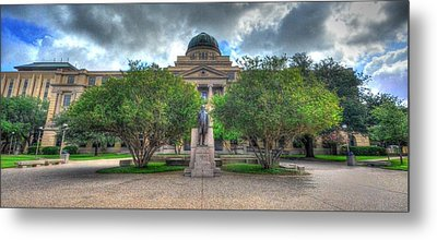 The Academic Building Metal Print