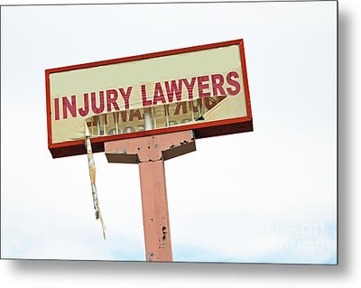 The Accident Metal Print