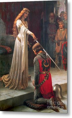 The Accolade  Metal Print by MotionAge Designs