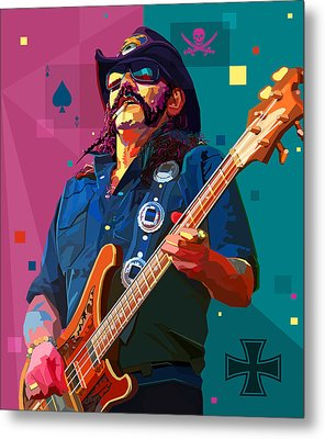 The Ace Of Spades Metal Print by Mal Bray