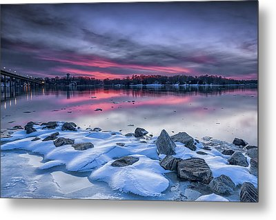 Metal Print featuring the photograph The Afterglow by Edward Kreis