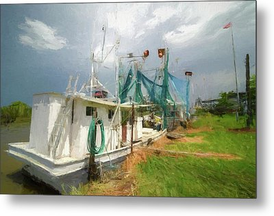 The Afternoon Storm Metal Print