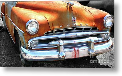The Age Of Dodge  Metal Print by Steven Digman