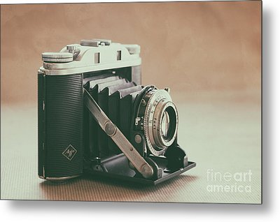 Metal Print featuring the photograph The Agfa by Ana V Ramirez