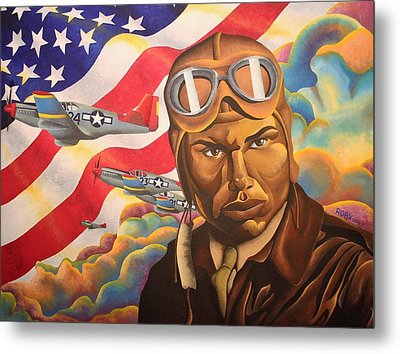 The Airman Metal Print