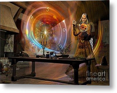 The Alchemist Metal Print by Shadowlea Is