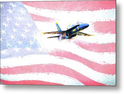 The All American  Metal Print by JC Findley