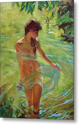 The Allegory Of Summer Metal Print