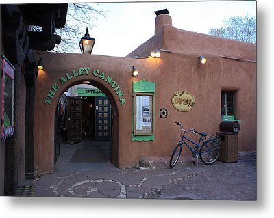 The Alley Cantina Metal Print