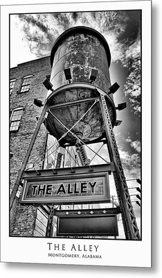 Metal Print featuring the digital art The Alley  by Greg Sharpe
