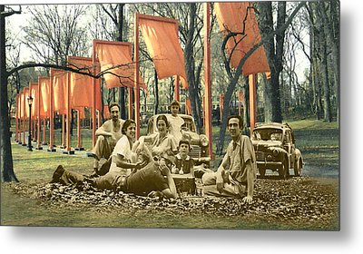 The Allusiveness Of Recollection Metal Print by Roslyn Rose