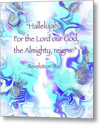 The Almighty Reigns Metal Print