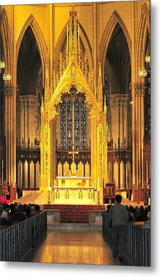 Metal Print featuring the photograph The Alter by Diana Angstadt