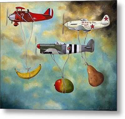 The Amazing Race 6 Metal Print by Leah Saulnier The Painting Maniac