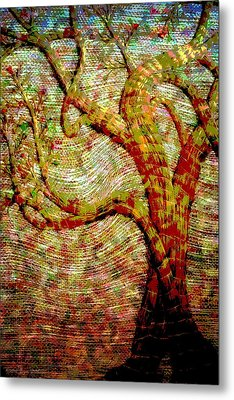 The Ancient Tree Of Wisdom Metal Print