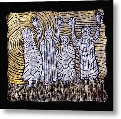 The Ancients Metal Print