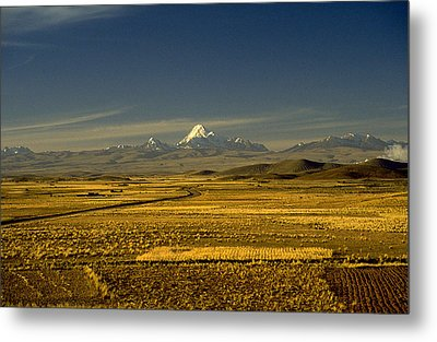 The Andes Metal Print by Michael Mogensen