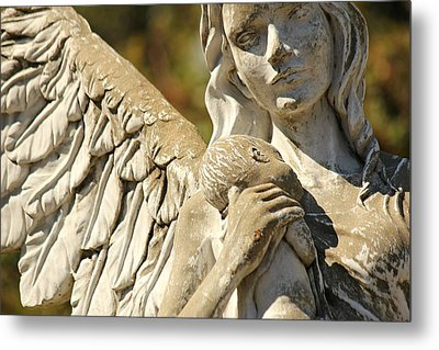 The Angel At St. Thomas Metal Print by Lynn Jordan