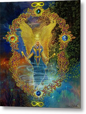 The Angel Michael Metal Print
