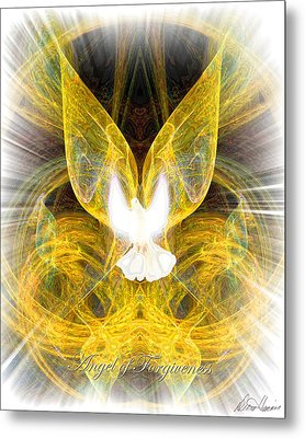 The Angel Of Forgiveness Metal Print