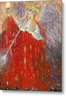 The Angel Of Life Metal Print by Annael Anelia Pavlova