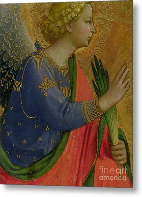 The Angel Of The Annunciation Metal Print