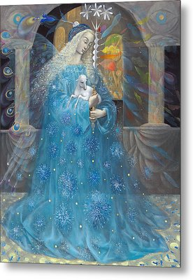 The Angel Of Truth Metal Print by Annael Anelia Pavlova