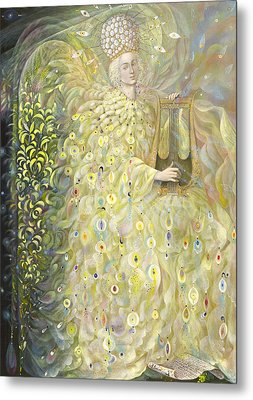 The Angel Of Wisdom Metal Print by Annael Anelia Pavlova