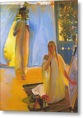 The Annunciation Metal Print by Mountain Dreams