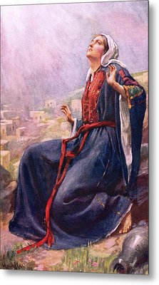 The Annunciation Metal Print by Harold Copping