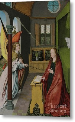 The Annunciation Metal Print by Jan Provost