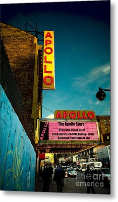 The Apollo Theater Metal Print by Ben Lieberman